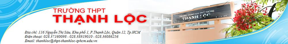 Trường THPT Thạnh Lộc