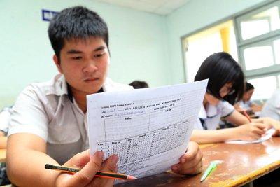 Đề thi THPT Quốc gia 2017 nằm trọn chương trình lớp 12