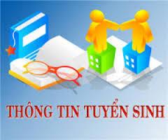 CÔNG THÔNG TIN TUYẾN SINH 2017