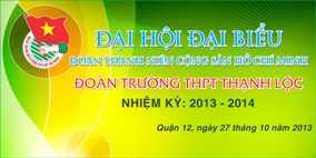 Đại hội Đoàn trường THPT Thạnh Lộc