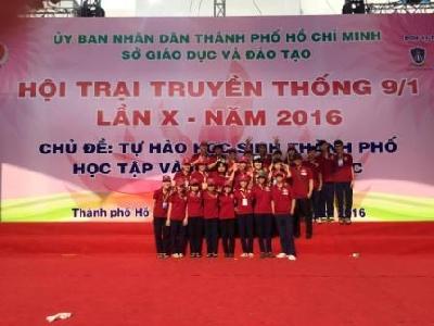 Tham gia Hội trại 9-1 lần X năm 2016